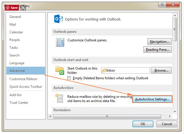 how to create archive folder in outlook 2010 youtube
